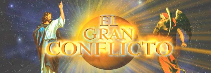 Banner: El Gran Conflicto: Pr. Luis Goncalves